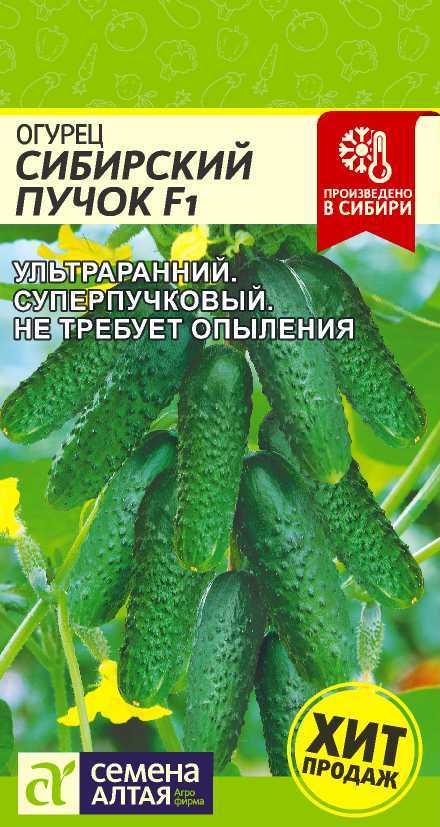 Огурец Сибирский Пучок F1/Сем Алт/цп 5 шт.